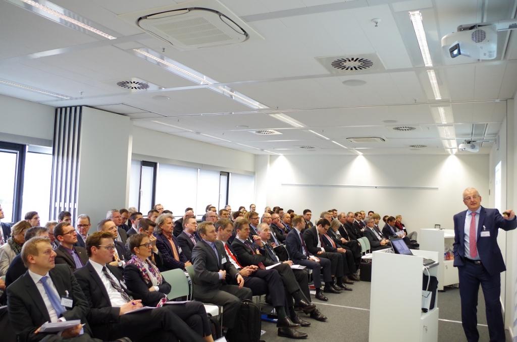 Impression Dienstleistungsforum 2015 – Plenum