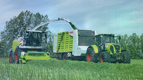 Foto: www.claas-gruppe.com; Collage: FIR