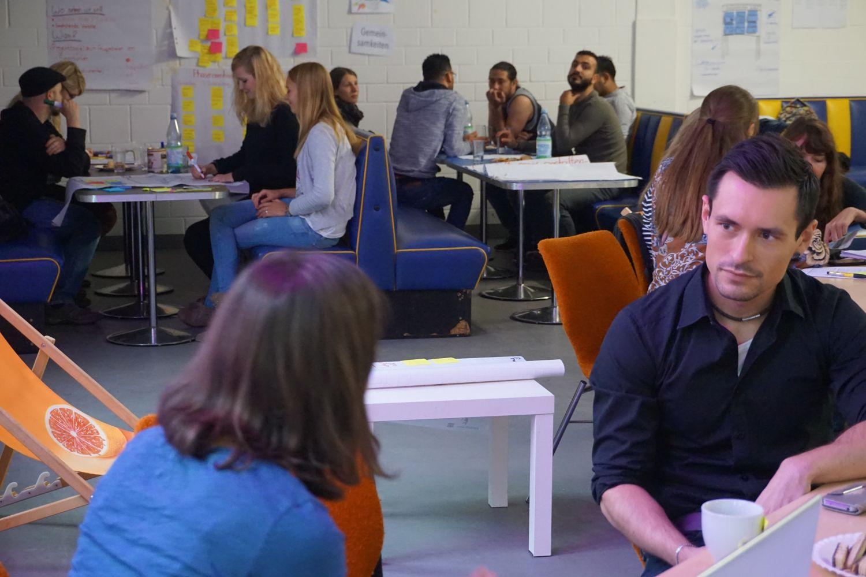 Bildquelle: Torsten Pötzsch.Studierende und Weißwasseraner/-innen entwickelten Projektideen für das Ehrenamt